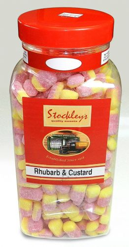 PP29 STOCKLEYS RHUBARB AND CUSTARD 2.73KG